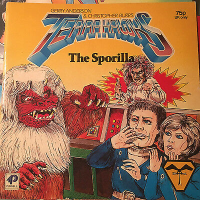 Terrahawks The Sporilla Story Book Gerry Anderson Purnell 1984
