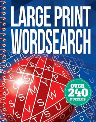 Large Print Wordsearch Book The Cheap Fast Free Post