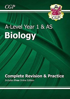 New A-Level Biology: Year 1 & AS Complete Revision & Practice wi... by CGP Books