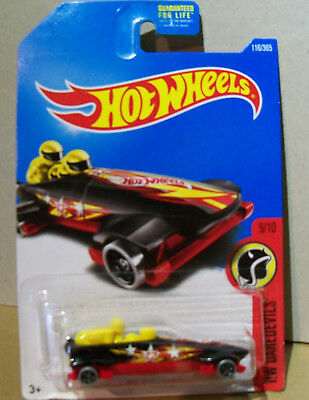 2017 HOT WHEELS /'/'HW DAREDEVILS/'/' #116 = ICE SHREDDER = BLACK   int.
