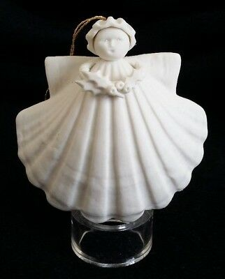 Margaret Furlong Holly Angel Christmas Ornament Vintage
