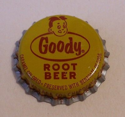 "Vintage Goody ""Root Beer""..cork..unused..Soda Bottle Cap"