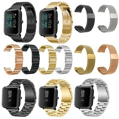 Stainless Steel Bracelet Watch Band Strap For Xiaomi Amazfit Bip Youth Watch