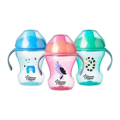 Tommee Tippee Training Sippee Cup 7m+ CHOICE OF DESIGN BOYS/GIRLS (A64)