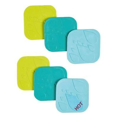 Safety 1st Anti-Slip Grippy Bath Pads (Pack of 6) For Bathtime Safety