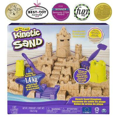 Kinetic Sand 1.4kg - Beach Sand Kingdom - Spin Master 6044143