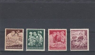 GERMANY - SG857-860 MNH 1944 10th ANNIV MOTHER & CHILD ORGANISATION