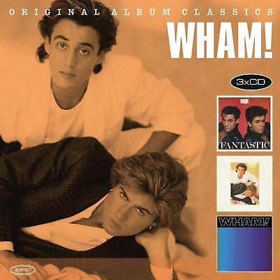 Wham! Original Album Classics 3 Cd Album Set