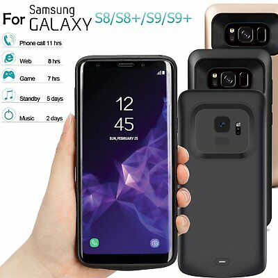 8500mAh Extended Battery Case Power Bank Charger For Samsung S8 S8+ Plus S9 S9+