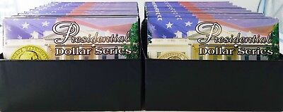 Lot Of (20) Different Presidential Dollar Series $1 Coins With Box - N570