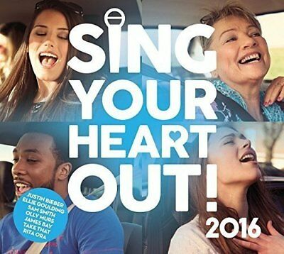Various Artists - Sing Your Heart Out 2016 - Various Artists CD AAVG The Cheap
