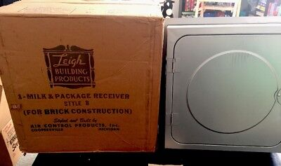 Antique Leigh Milk & Package Receiver From The 1960's -New Never Used!!