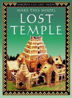 Lost Temple (Usborne Cut Outs) by et al Paperback Book The Cheap Fast Free Post