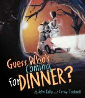 Guess Who's Coming for Dinner? by John Kelly Hardback Book The Cheap Fast Free