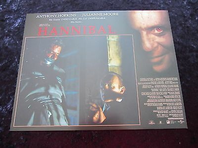 HANNIBAL lobby card # 4 ANTHONY HOPKINS, JULIANNE MOORE, SILENCE OF THE LAMBS