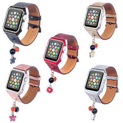 Rhinestone Protector Case Cover Protective Band for Apple Watch iWatch 38/42mm
