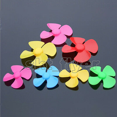 5 Colors 40*2mm Propeller Model Paddle Blade Car Boat Airplane DIY Motor Part
