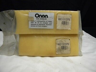 2 New in Sealed Packages Genuine Onan Filter 140-2255-01