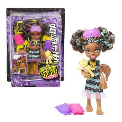 "Monster High Pawla Wolf Siblings Family Mini 5.5"" Fashion Doll Toy"