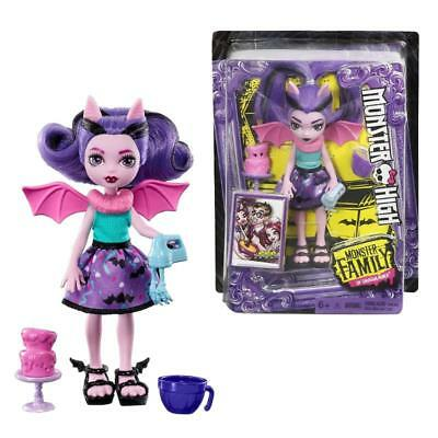"""Monster High Fangelica Siblings Family Mini 5.5"""" Fashion Doll Toy"""