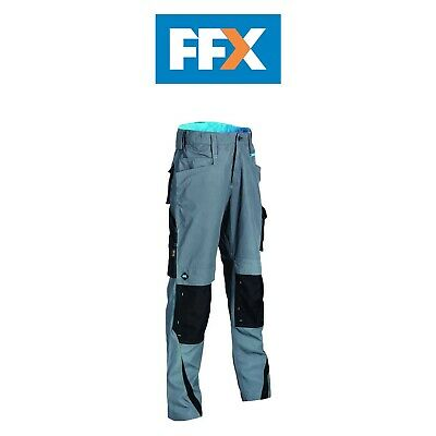 OX Tools OX-W55113 Ripstop Trousers Regular In Various Sizes - Graphite