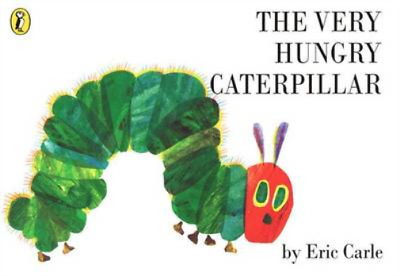 The Very Hungry Caterpillar, Eric Carle, Used; Good Book