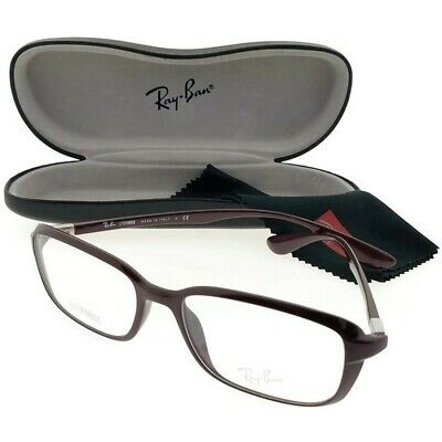 f09b0a8f22 Ray Ban RX7037-5432-53 Liteforce Unisex Violet Frame Clear Lens Eyeglasses  NWT