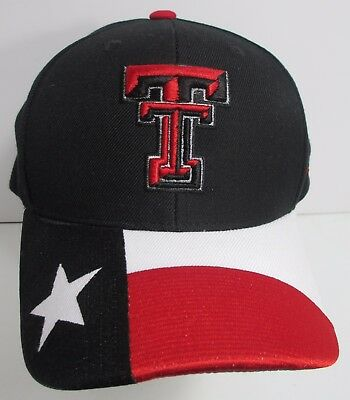 premium selection 24c64 f4093 Texas Tech Hat Cap Snapback NCAA Zephyr University Red Raiders USA New