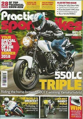 PRACTICAL SPORTSBIKES N.93 (NEW COPY)*Post included to UK/Europe/USA/Canada