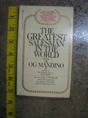 The greatest salesman in the world mandino og new paperback greatest salesman in the world by mandino og book the fast free shipping fandeluxe Choice Image
