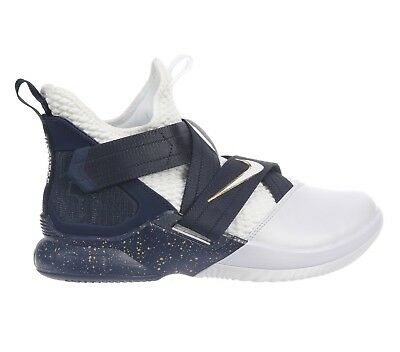 d5092dd80a4 Nike Lebron Soldier 12 SFG Witness Mens AO4054-100 White Navy Shoes Size 9.5