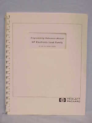 HP Electronic Load Family Programming Reference Manual