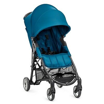 Baby Jogger City Mini Zip Compact 4 Wheel Foldable Lightweight Stroller, Teal