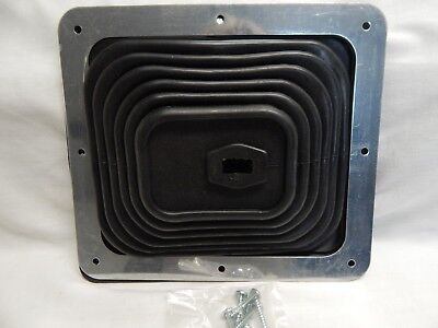 Mr Gasket 9649 Universal Large Shifter Boot Rubber Superboot (open package)
