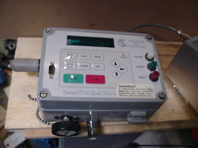 Cincinnati Test Systems Sentinel C-20 Leak Test Instrument  24vdc powered