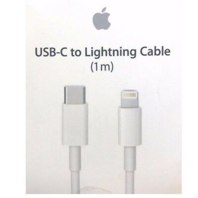 Authentic Apple USB-C To Lightning Cable 1m For iPhone iPads iPods MK0X2AM/A