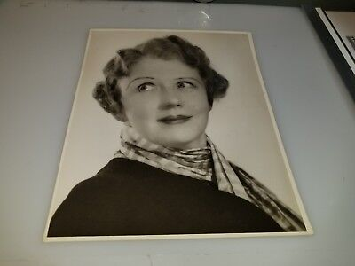 Vintage Photo Of Cora Witherspoon From Play Russet Mantle 1936