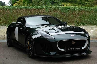 2016 Jaguar F-TYPE 5.0 V8 Supercharged (575PS) PROJECT 7 Petrol green Automatic