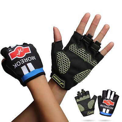 Cycling Mountain Bike Gloves Road Racing Bicycle  Half Finger Sports Gloves CA