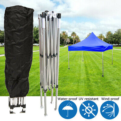 Pop Up Canopy Tent Cover Black for 10x10 10x15 10x20 Straight Leg Canopy Frames