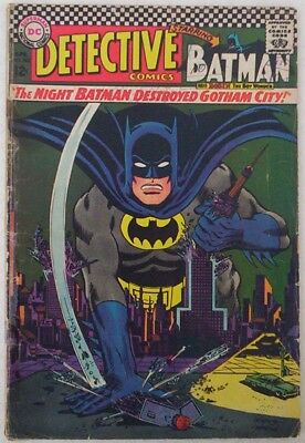 "1967 ""BATMAN"". Detective colour picture comic #362. Early appearance The Riddler"