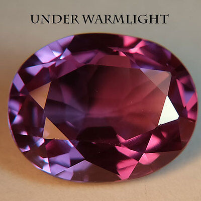 10.30ct.AWESOME RUSSIAN COLOR CHANGE ALEXANDRITE OVAL GEMSTONE