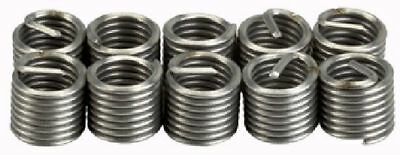 """Industrial Quality 10Pce 3/8""""-16 UNC Helicoil Type Thread Repair Inserts"""