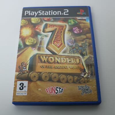 7 Wonders of the Ancient World - Sony Playstation 2 PS2 PSTwo Jeu - COMME NEUF