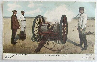 ANTIQUE 1907 POSTCARD View From The Bluff Clinton N j  - $13 99