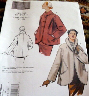 Vintage 1950s Sewing Pattern Clotilde Swing Dress Bolero Jacket Size