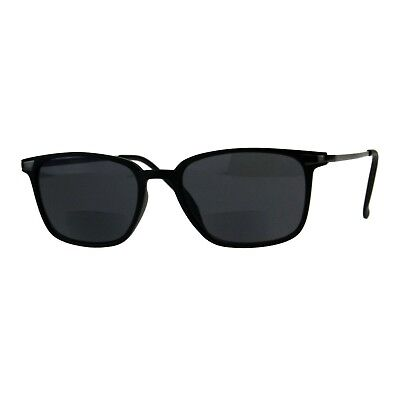 a95eae9452bf Bifocal Reading Lens Sunglasses Magnified Bottom Lens Stylish Rectangle  Frame