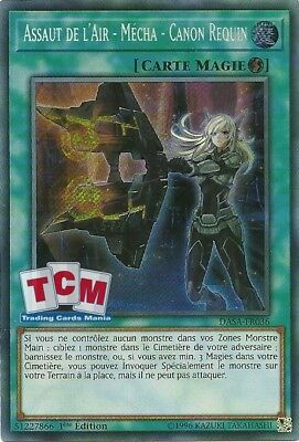 "Yu-Gi-Oh - ""Assaut de l'Air - Mécha - Canon Requin"" DASA-FR036 - Secret rare"