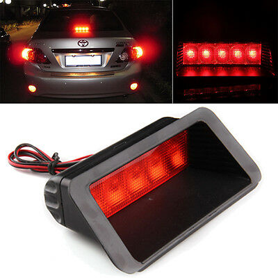 Pair Car Rear Exterior Outter Warning Tail Brake Stop Light LED Lamp Generic Fit