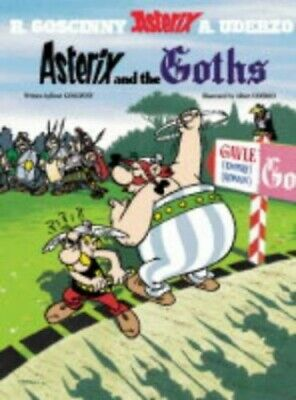Asterix and the Goths: Album 3 by Albert Uderzo Paperback Book The Cheap Fast